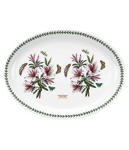 Portmeirion Botanic Garden Azalea Turkey Platter
