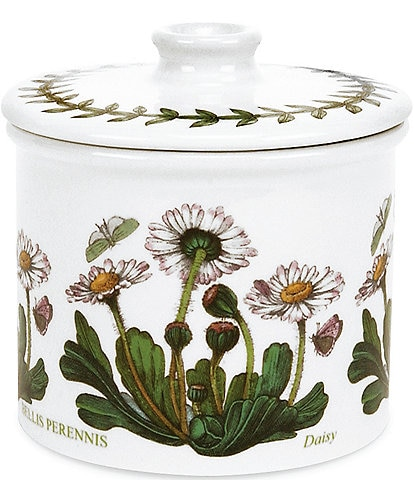 Portmeirion Botanic Garden Daisy Covered Sugar Bowl