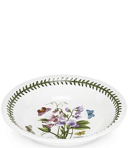 Portmeirion Botanic Garden Floral Pasta Low Serving Bowl