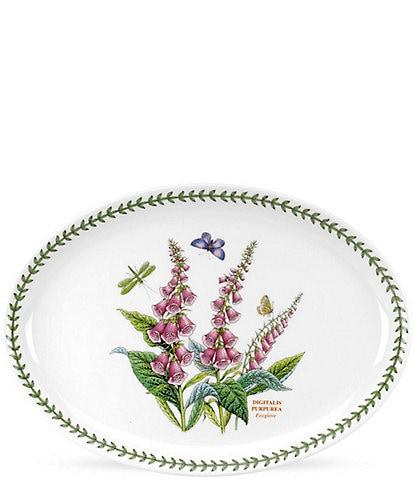 Portmeirion Botanic Garden Foxglove Medium Oval Platter