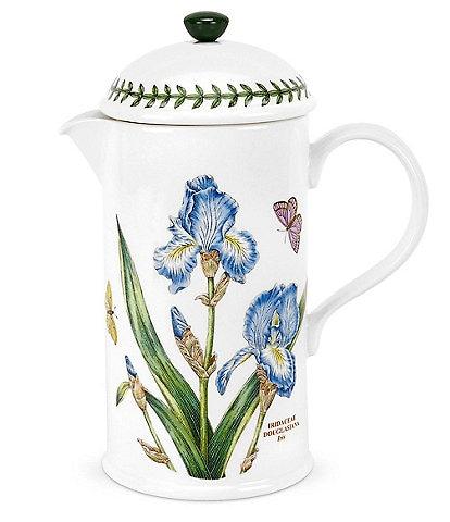 Portmeirion Botanic Garden Iris 1.75 pint Cafetiere