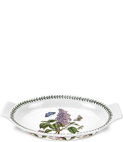 Portmeirion Botanic Garden Lilac Large Oval Gratin Dish