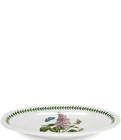 Portmeirion Botanic Garden Lilac Medium Low Oval Server