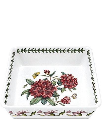 Portmeirion Botanic Garden Rhododendron Square Dish