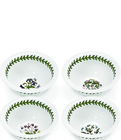Portmeirion Botanic Garden Set of 4 Round Mini Bowls