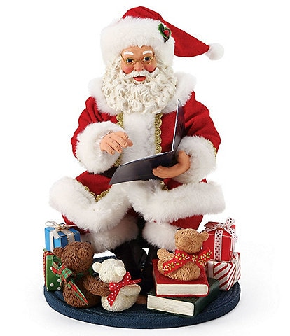 Possible Dreams Captive Audience Santa Figurine