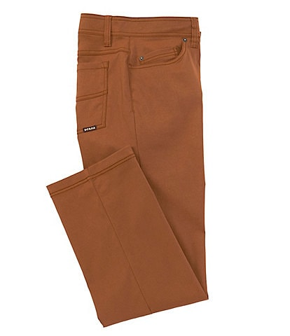 prAna Brion Water-Repellent Mid-Rise Flat Front Stretch Pants