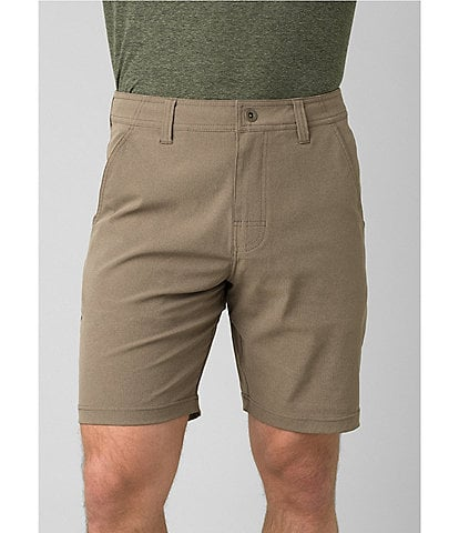 prAna Hybrizer Performance Stretch 8.5#double; Inseam Shorts
