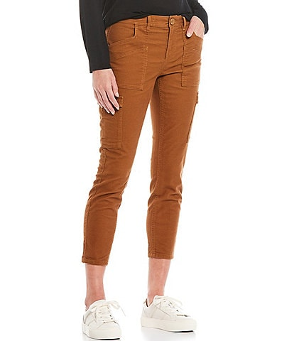 prAna Nikit Mid-Rise Skinny Ankle Stretch Cargo Pant