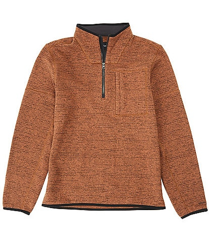 Prana Tri-Thermal Quarter-Zip Recycled Materials Pullover