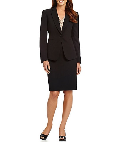 Preston & York Alyssa Crepe Jacket & Skirt