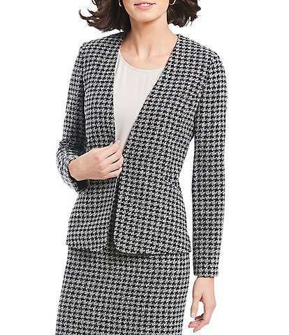 Preston & York Andrea Houndstooth Suiting Jacket