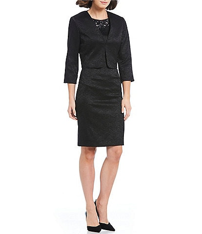 Preston & York Diana Jacquard Jacket Dress