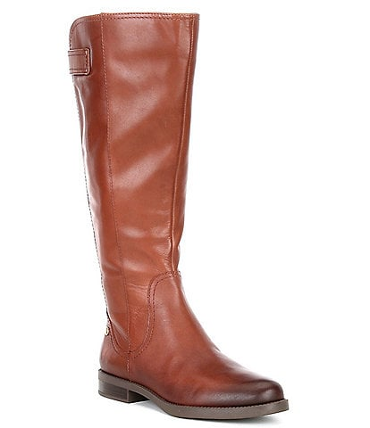 Preston & York Flannery Leather Tall Block Heel Boots