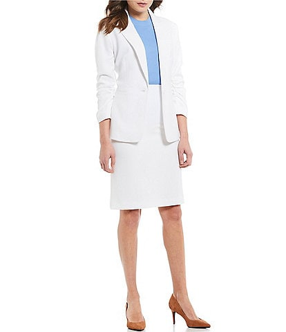 Preston & York Gwen Crepe Suiting Jacket & Kelly Stretch Crepe Suiting Pencil Skirt