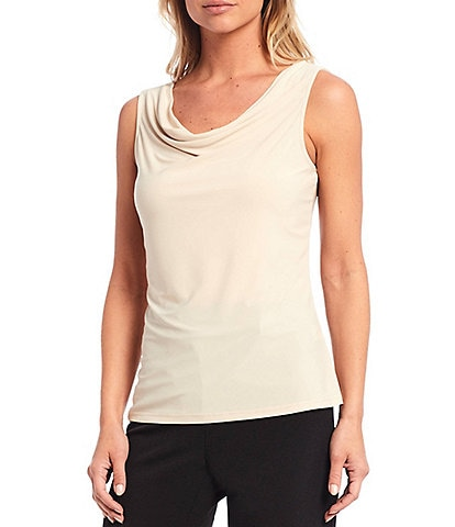 Preston & York Jacie Cowl Neck Knit Tank