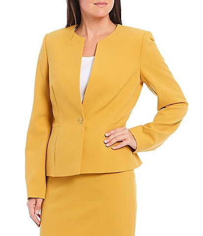 Preston & York Jillian Lightweight Stretch Crepe Blazer