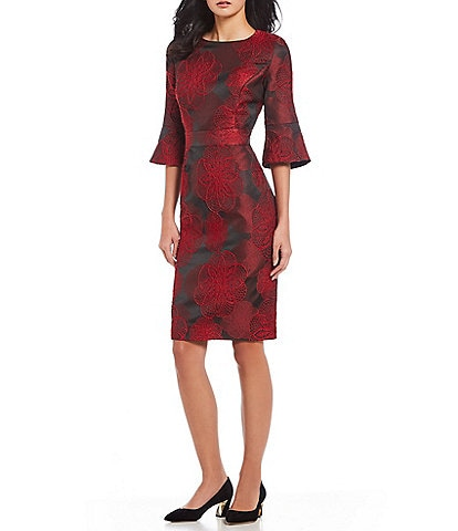 Preston & York Jordana Jacquard Sheath Dress