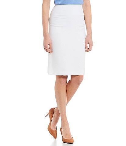 Preston & York Kelly Stretch Crepe Suiting Knee Length Pencil Skirt