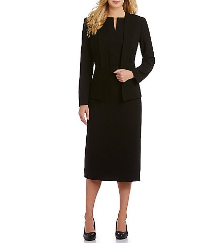 Preston & York Liza Slim Bi-Stretch Jacket & Blake Dress