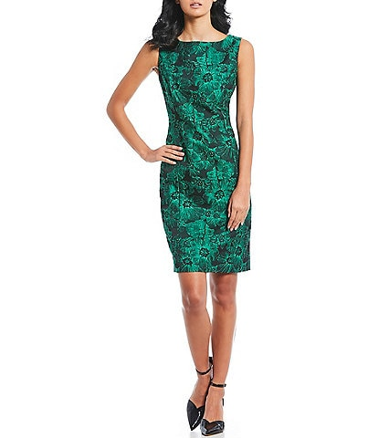 Preston & York Mary Jacquard Sheath Dress
