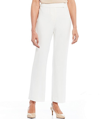 Preston & York Flat Front Slim Straight Leg Pant