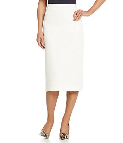 Preston & York Taylor Crepe Pencil Skirt