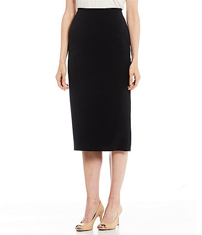 73a835ef3a Preston & York Taylor Midi Crepe Pencil Skirt