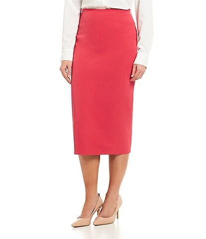 Preston & York Taylor Stretch Crepe Suiting Pencil Skirt