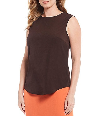 Preston & York Violet Sleeveless Blouse