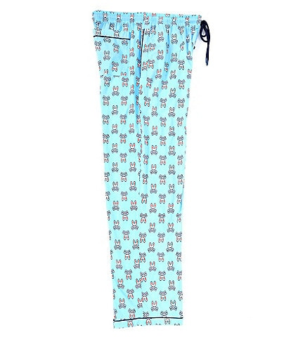 Psycho Bunny All-Over Print Woven Pajama Pants