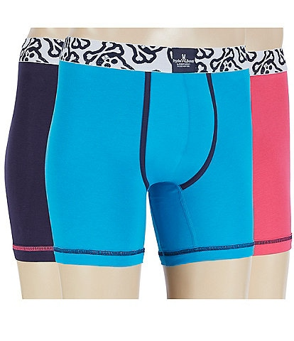 Psycho Bunny Cool Colors Boxer Briefs 3-Pack