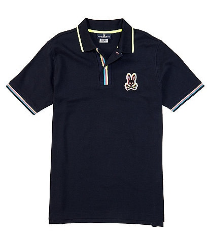 Psycho Bunny Holloway Short-Sleeve Polo Shirt