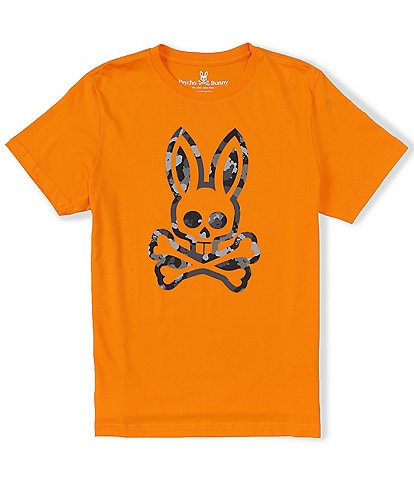 Psycho Bunny Howgate Short-Sleeve Graphic Tee
