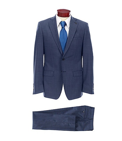 Psycho Bunny Slim Fit Fancy Wool Suit