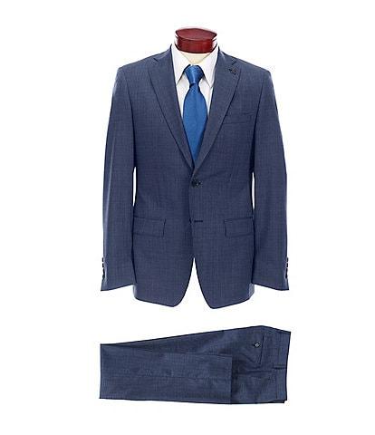 Psycho Bunny Slim Fit Fancy Wool Suit