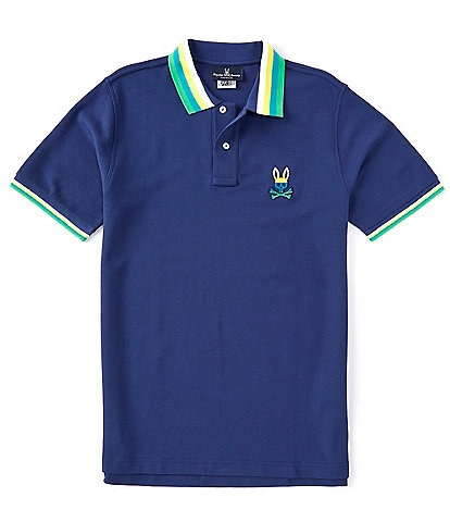 Psycho Bunny Westhorpe Short-Sleeve Polo Shirt
