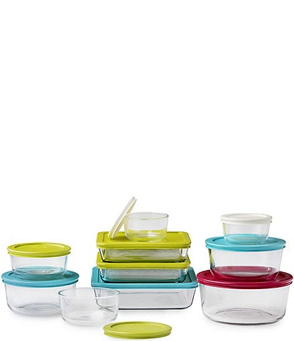 Pyrex Simply Store Stackable 20-Piece Storage Set