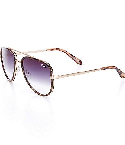 Quay x Maluma Australia All In Mini Aviator Sunglasses