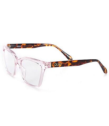 Quay Australia CEO Cat Eye 42mm Blue Light Glasses