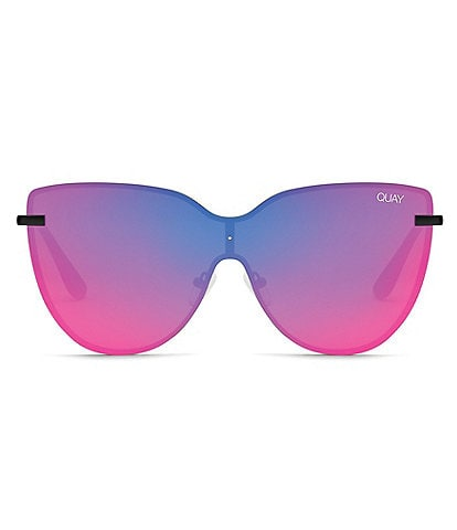 Quay Australia Day Dream Oversized Shield Sunglasses