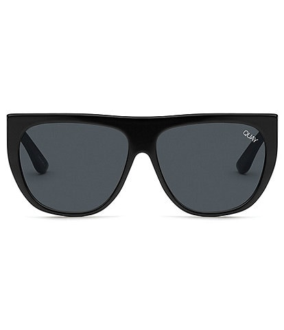 Quay Australia Drama By Day Flat Top Sunglasses