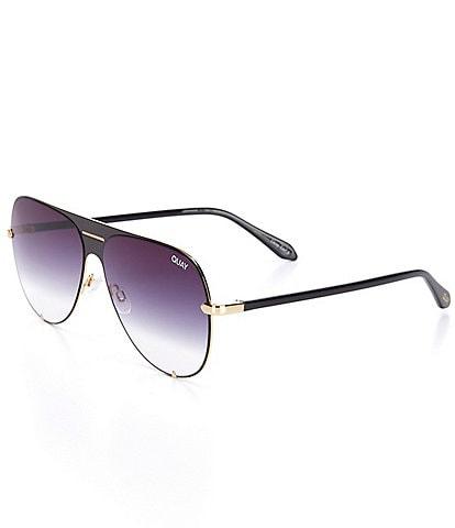 Quay Australia Quay x Maluma High Key Shield Oversized Sunglasses