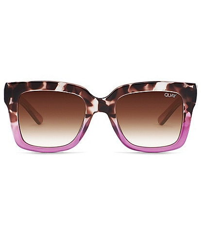Quay Australia Icy Square Sunglasses