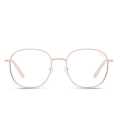 Quay Australia Jezabell Round Blue Light Glasses