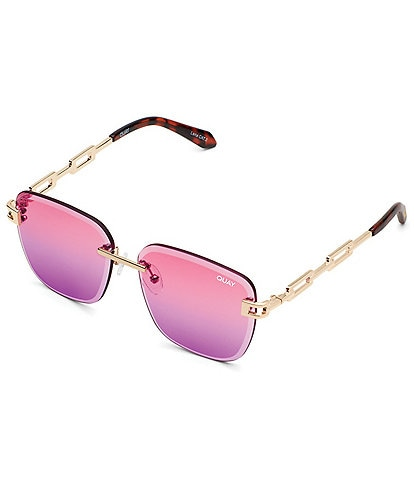 Quay Australia No Cap Square 52mm Sunglasses