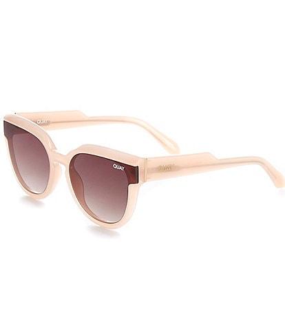 Quay Australia Noosa Bevel Cat Eye Sunglasses