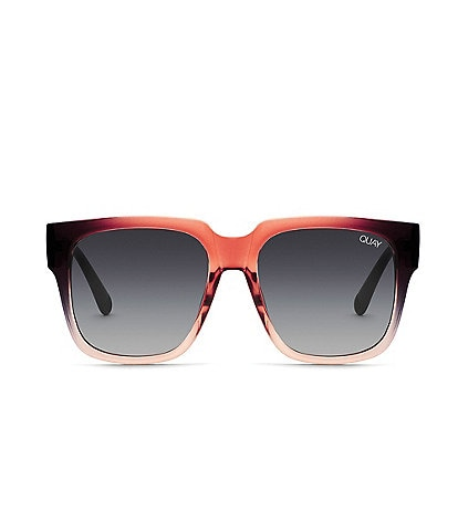Quay Australia On the Prowl Oversized Mirrored Square Sunglasses