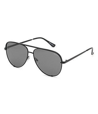 Quay Australia Polarized High Key Aviator Sunglasses