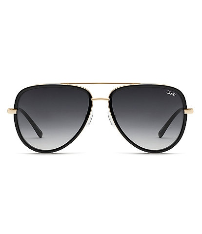 Quay Australia #QUAYXJLO All In Aviator Sunglasses